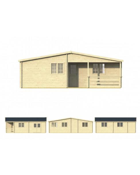 Kerti faház Azores 941x848 cm - 76m²